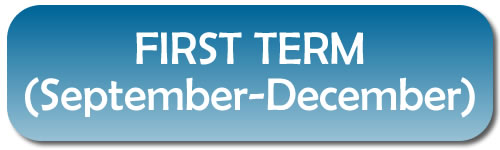 FIRST TERM (September-December)